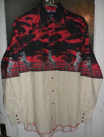 Сорочка Wrangler Western Shirts, розмір 50