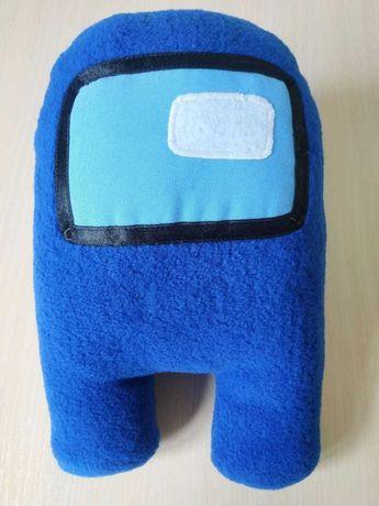 Among Us космонавт подушка в автокрісло  м'яка іграшка ручна робота