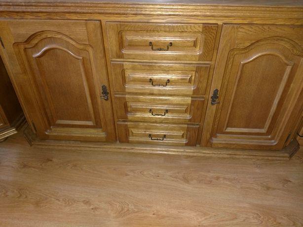 Rustykalne, piękne, drewniane komody (duża 1000 zł, mała 500 zł)