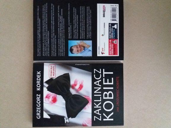 Grzegorz Kordek Zaklinacz kobiet - nowa książka, nakłady wyczerpane