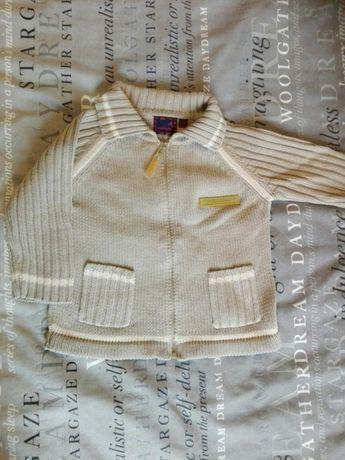 Sweterek-bluza 86, spodnie dresowe 86