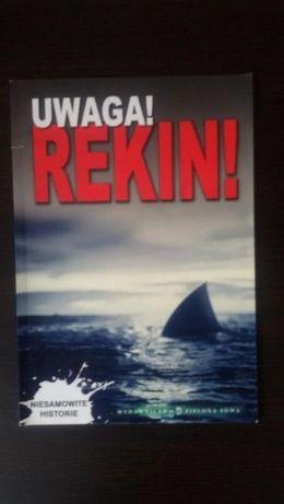 książka uwaga rekin