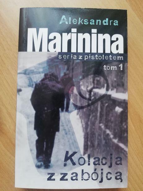 Aleksandra Marinina 'Kolacja z zabójcą'