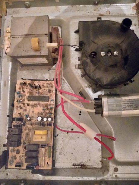 Блок управления микроволновка WHIRLPOOL JT359