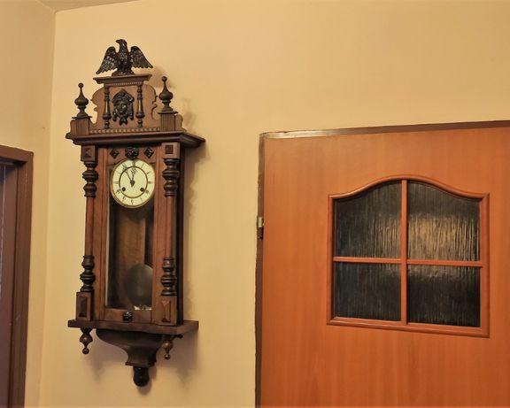 Przepiękny stylowy zegar wiszący Baduf Uhrenfabrik AG