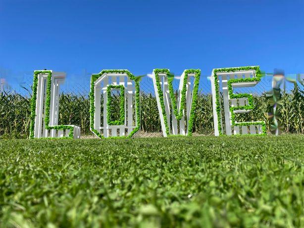 Napis LOVE / Śląsk