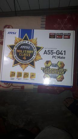 Комплект / сборка HyperX 4gb DDR3 | FM2+ A8 5600k | MSI A55-G41
