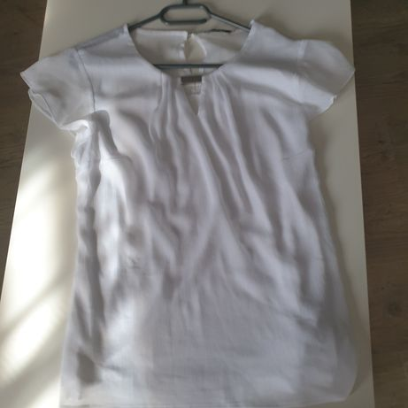 Bluzka elegancka biała