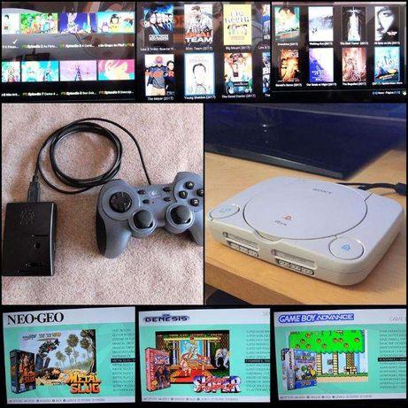 Pack Raspberry pi 2 jogos, series e filmes