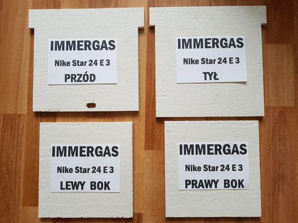 Immergas Nike Eolo Mini Star izolacja komory spalania pieca gazowego.