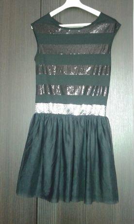 Sukienka wizytowa 146-158 .