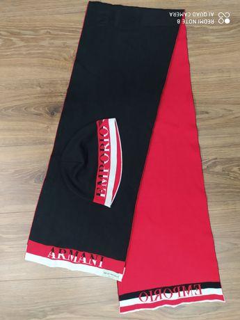 Оригинальные шапка шарф Emporio Armani комплект made in Italy