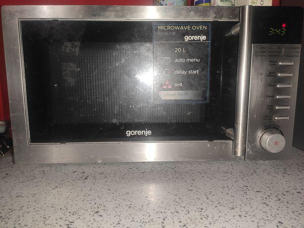 Микроволновка печь гриль gorenje