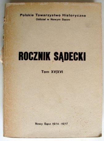 Rocznik Sądecki - Tom XV/XVI - Rok 1974 - Rok 1977