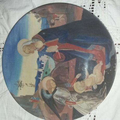 Pratos antigos pintados à mão