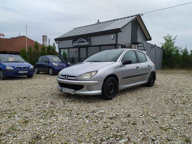 Peugeot 206 // 5 drzwi // 1.4 benzyna + LPG // el.szyby // halogeny
