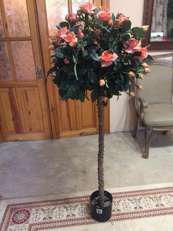 Роза дерево искусственная