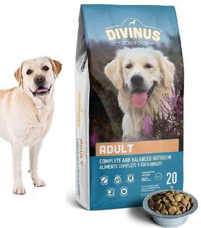 Karma dla psa DIVINUS ADULT 32% Mięsa 20 kg Lekkostrawna Wysyłka