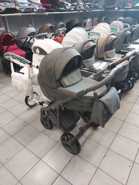 Wózek Chantal 2w1, 3w1, 4w1