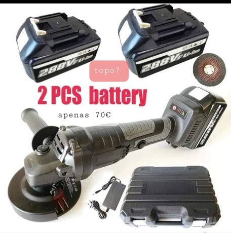 Rebarbadora a bateria