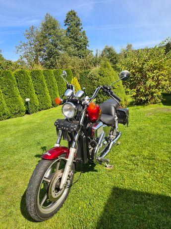 Honda Shadow VT750C Super stan!