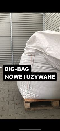 Big bag bagi begi MOCNE na kukurydzę kiszonkę 1000 kg