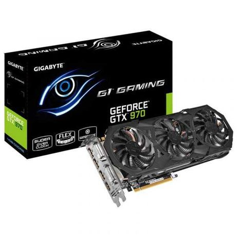 Gigabyte GeForce GTX970 WindForce OC 4GB GDDR5