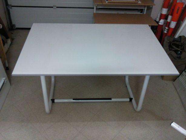 Stół studencki stół kwadratowy stół biały