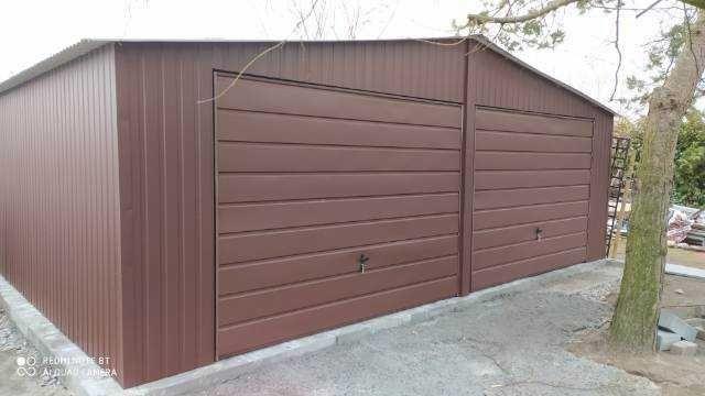 garaż blaszany garaż blaszak 7x6 6x6 6x5 5x5 okucia gratis producent