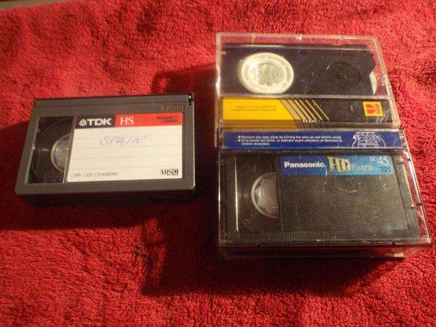 Кассеты VHS-C. Video 8. Dv.