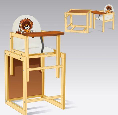 столик для кормления, стілець для годування стол парта 2 в 1