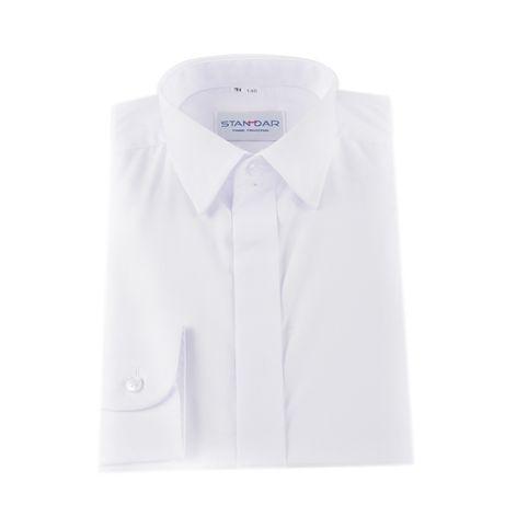 Koszula chłopięca biała komunijna rozmiar 146, kołnierzyk 32
