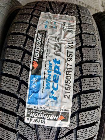 Зимняя резина R17 215/50 Hankook Winter ICept IZ² новая,как в магазине