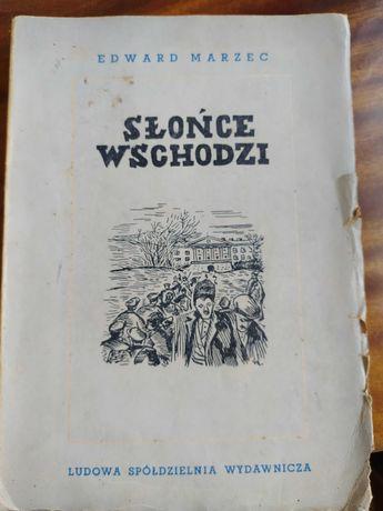 """Książka """"Słońce wschodzi"""" - Edward Marzec"""