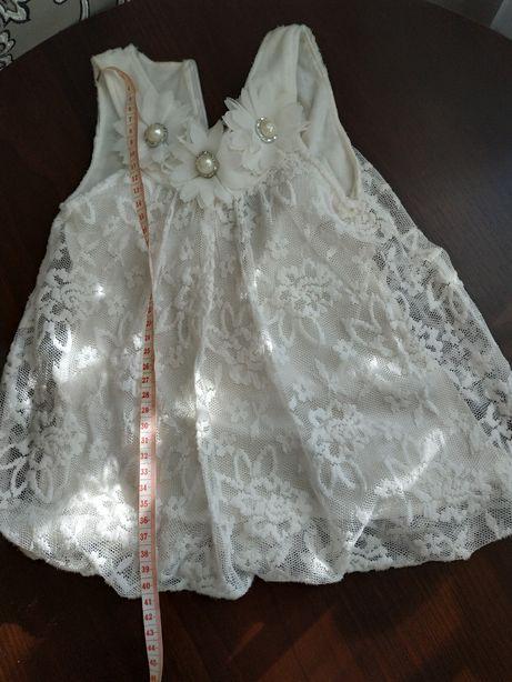 Нарядное платье на крестины, 1 годик