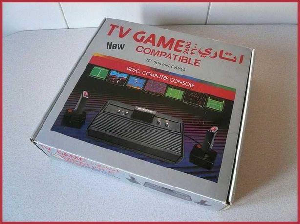 Konsola TV Game - Klon ATARI 2600, Wbudowane 250 Gier, NOWA!