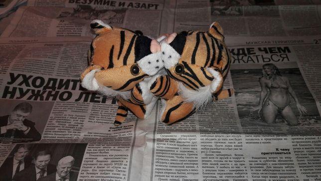 Влюблёные тигры игрушка мягкая тигр котики романтическая милая подарок