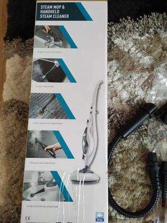 Mop parowy i ręczny odkurzacz parowy 2w1