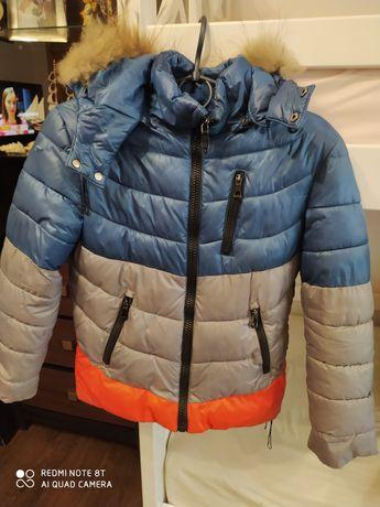 Куртка зимова для хлопчика мальчика  134р 8р.