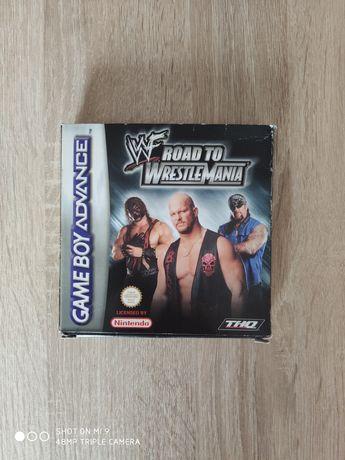 Gra Game Boy Advance Wf Road To Wrestlemania