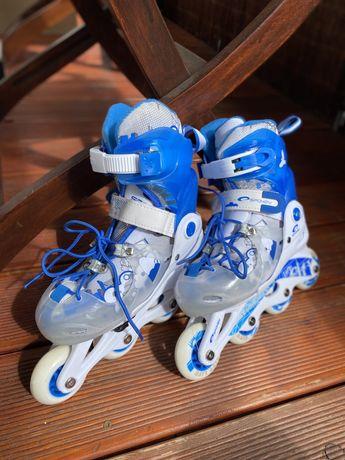 Łyżworolki Spokey 30-33 niebieskie