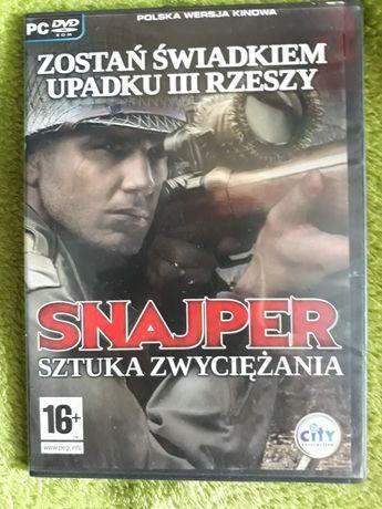 Snajper Sztuka Zwyciężania PC DVD rom polska wersja kinowa