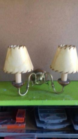 Candeeiro de parede 2 lampadas