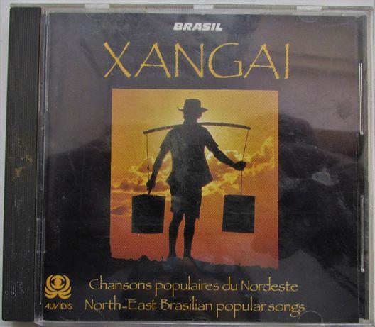 CD - Xangai - Canções Populares do Nordeste do Brasil, como novo, raro