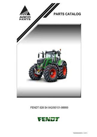 Katalog części ciągnika Fendt 828