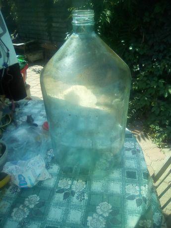 Бутыль 25 литров стеклянный