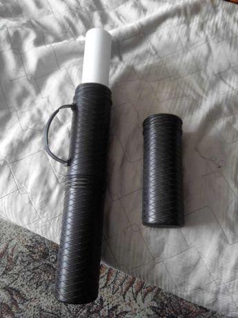 Тубус раскладной для чертежей черный (65 см)