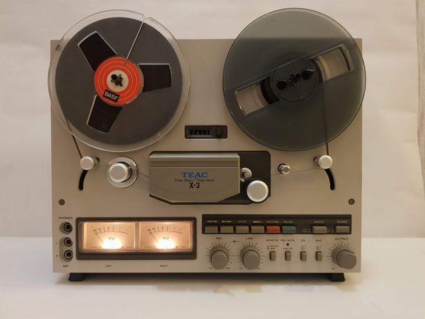 Катушечный магнитофон TEAC X-3
