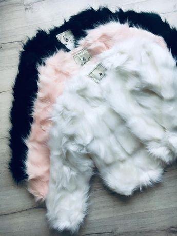 futro kurtka elegancki płaszcz ze sztucznego futra kurtka