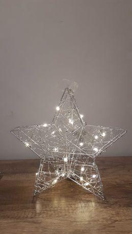Gwiazda świąteczna led.